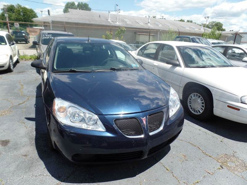 2008 Pontiac G6 Value Leader 4dr Sedan - Parkersburg WV