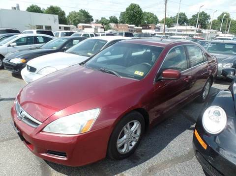 2006 Honda Accord for sale in Parkersburg, WV
