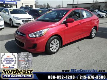 2015 Hyundai Accent for sale in Philadelphia, PA