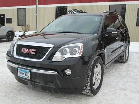 2009 gmc acadia for sale minnesota. Black Bedroom Furniture Sets. Home Design Ideas
