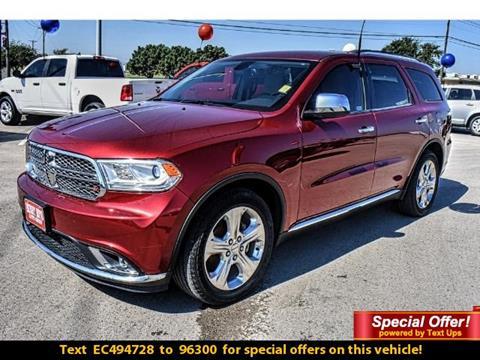2014 Dodge Durango for sale in Andrews, TX