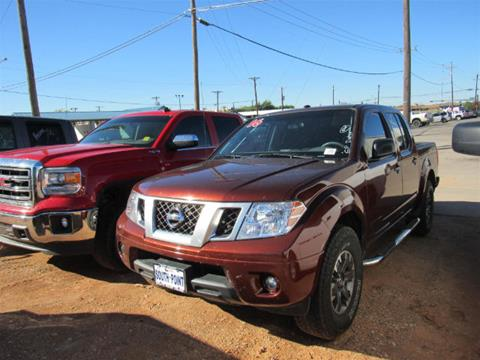2016 Nissan Frontier for sale in Andrews TX