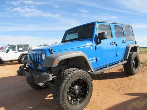 2011 Jeep Wrangler Unlimited for sale in Andrews TX