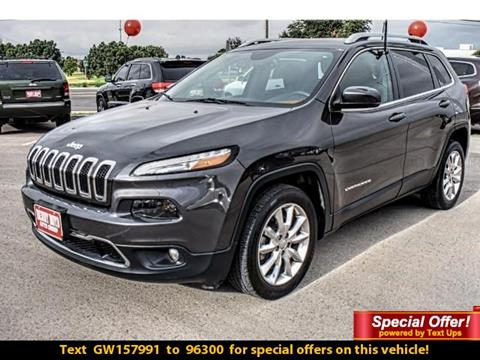 2016 Jeep Cherokee for sale in Andrews TX