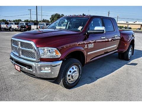 2017 RAM Ram Pickup 3500 for sale in Andrews TX