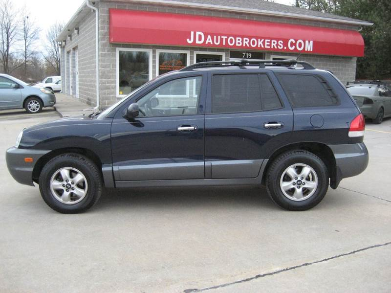 2005 hyundai santa fe lx awd 4dr suv in troy mo jd auto. Black Bedroom Furniture Sets. Home Design Ideas