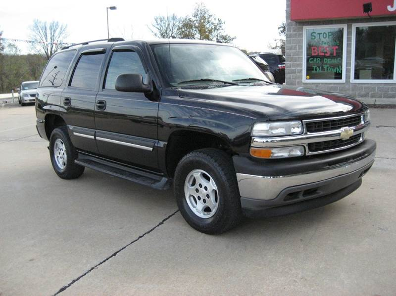 2005 chevrolet tahoe ls 4wd 4dr suv in troy mo jd auto. Black Bedroom Furniture Sets. Home Design Ideas