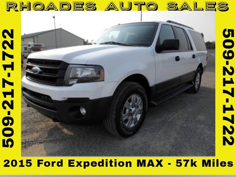 Ford Expedition El Xl Fleet X Dr Suv Spokane Valley Wa