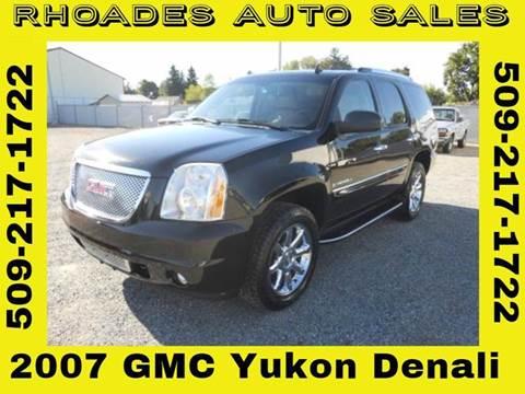 2007 GMC Yukon for sale in Spokane Valley, WA