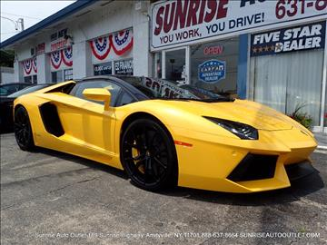 2015 Lamborghini Aventador for sale in Amityville, NY