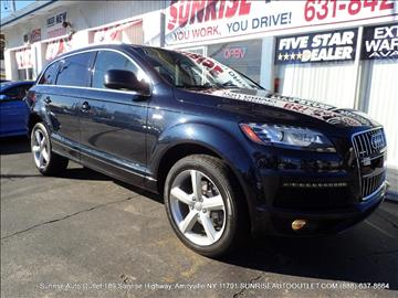 2012 Audi Q7 for sale in Amityville, NY