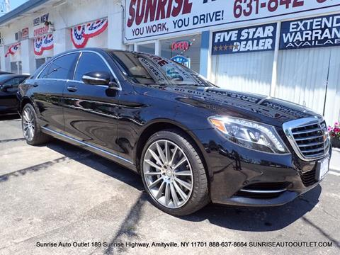 2014 Mercedes-Benz S-Class for sale in Amityville NY