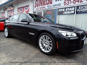 2015 BMW 7 Series for sale in Amityville NY