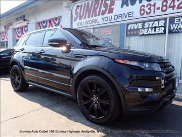 2013 Land Rover Range Rover Evoque for sale in Amityville NY