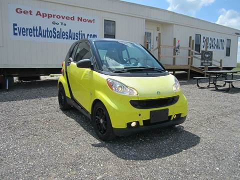 2008 Smart fortwo for sale in Austin, TX