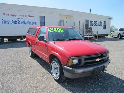 1995 Chevrolet S-10 for sale in Austin, TX