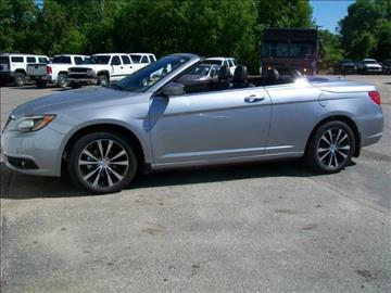 2014 Chrysler 200 Convertible For Sale Yellville Ar