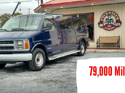 2000 Chevrolet Express Passenger for sale in Mechanicsburg, PA