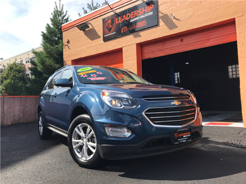 2017 Chevrolet Equinox for sale in Chelsea, MA