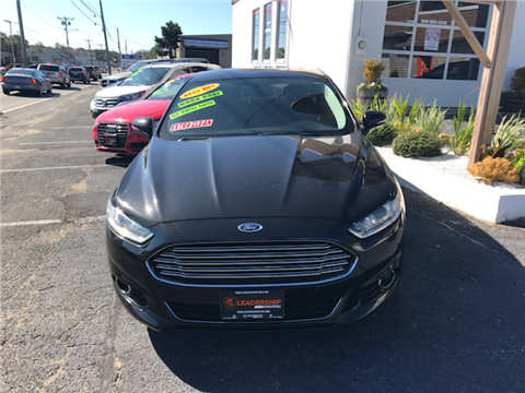 2013 Ford Fusion for sale in Chelsea, MA