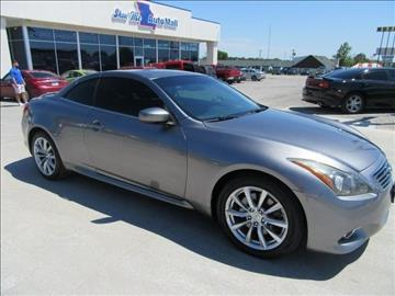 2011 Infiniti G37 Convertible for sale in Harrisonville, MO