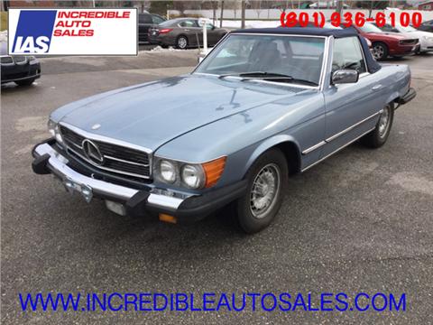 1985 Mercedes-Benz 380-Class