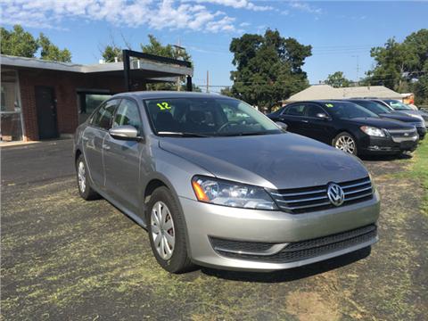 2012 Volkswagen Passat for sale in Lyons, KS