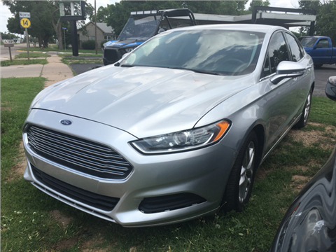 2013 Ford Fusion for sale in Lyons, KS