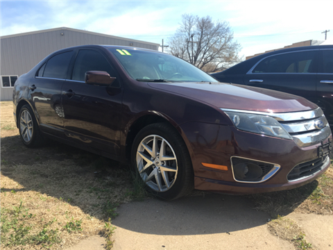 2011 Ford Fusion for sale in Lyons, KS