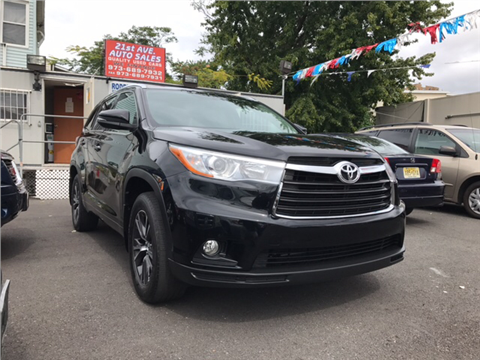 2016 Toyota Highlander for sale in Paterson, NJ