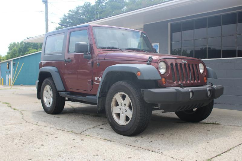 2007 Jeep Wrangler 4x4 X 2dr SUV - Crawfordsville IN