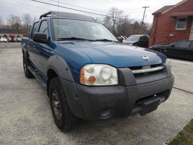 used 2001 nissan frontier xe in durham nc at delta motors. Black Bedroom Furniture Sets. Home Design Ideas