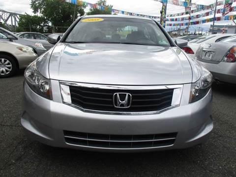 2008 Honda Accord for sale in Passaic, NJ