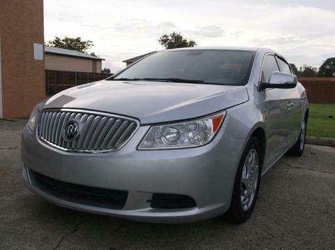 2010 Buick LaCrosse for sale in Garland, TX