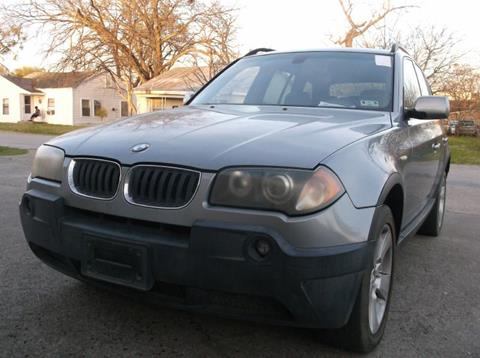 2004 BMW X3 for sale in Garland, TX