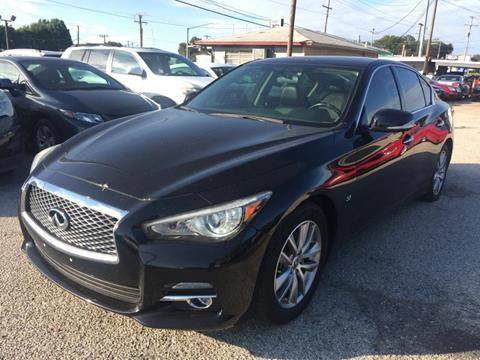 2014 Infiniti Q50 for sale in Garland, TX