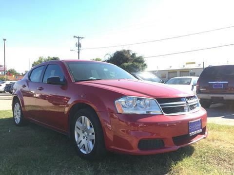 2013 Dodge Avenger for sale in Garland, TX
