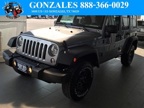 2017 Jeep Wrangler Unlimited for sale in Gonzales, TX