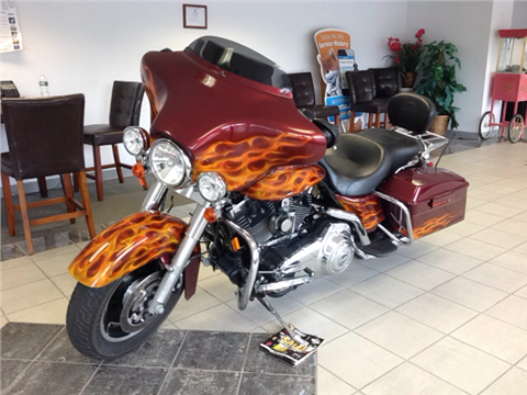 Harley davidson street glide for sale for Daher motors kingston nh