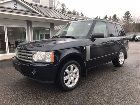 Used land rover range rover for sale new hampshire for Daher motors kingston nh
