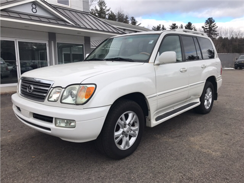 2004 lexus lx 470 for sale gainesville ga for Daher motors kingston nh