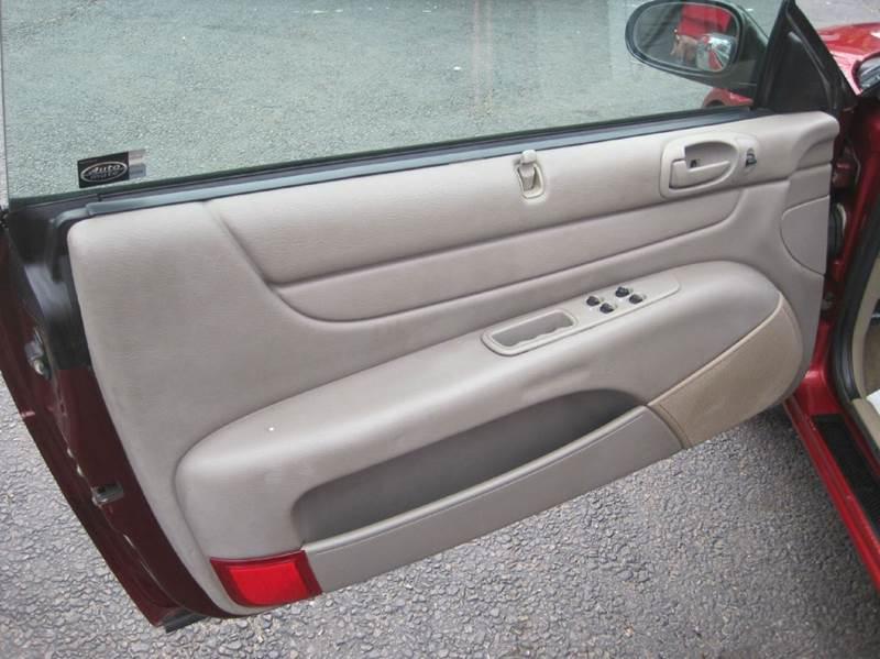 2004 Chrysler Sebring Touring 2dr Convertible - Cranston RI