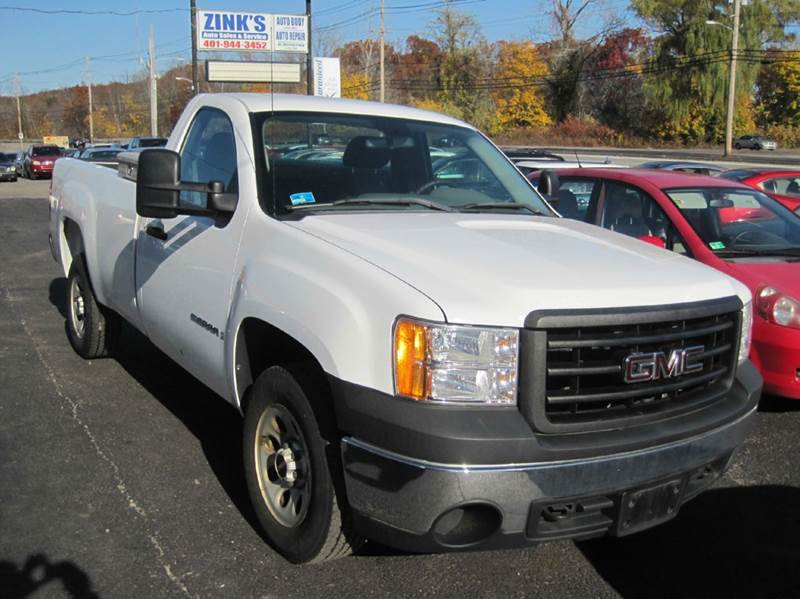 2008 GMC Sierra 1500 2WD Work Truck 2dr Regular Cab 6.5 ft. SB - Cranston RI