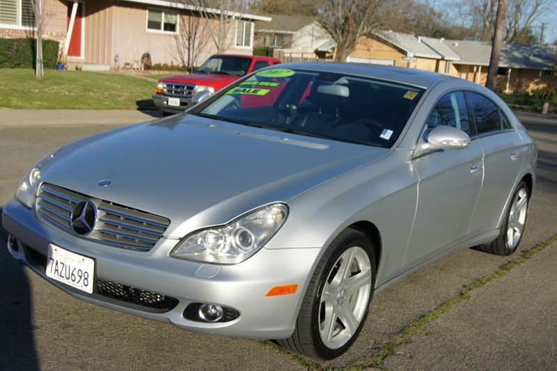 2007 Mercedes Benz Cls Cls 550 4dr Sedan In Carmichael Ca
