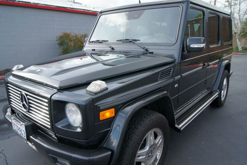 2004 Mercedes Benz G Class Awd G500 4matic 4dr Suv In