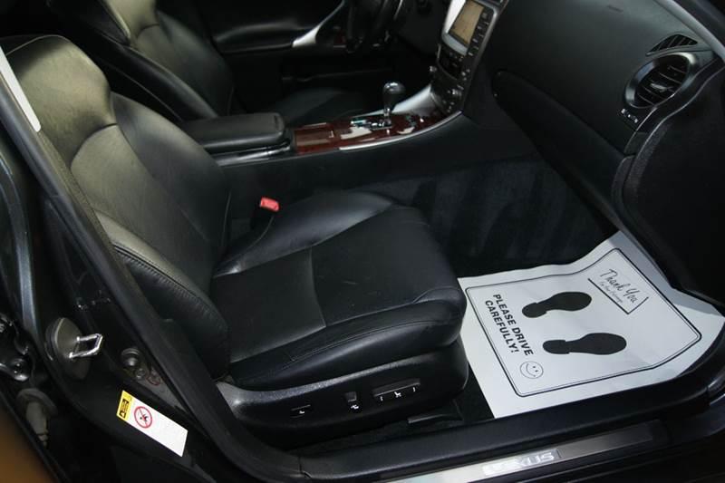 2008 Lexus Is 250 Base Awd 4dr Sedan