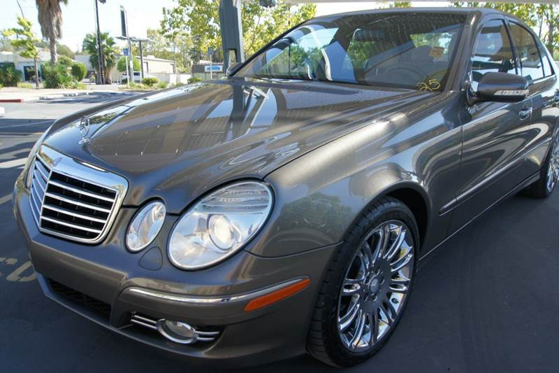 2008 Mercedes Benz E Class E550 4dr Sedan In Carmichael Ca
