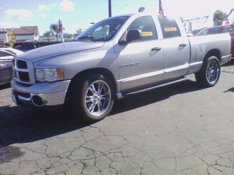 2003 dodge ram pickup 1500 st 4dr quad cab rwd sb in los angeles ca ramos auto sales. Black Bedroom Furniture Sets. Home Design Ideas