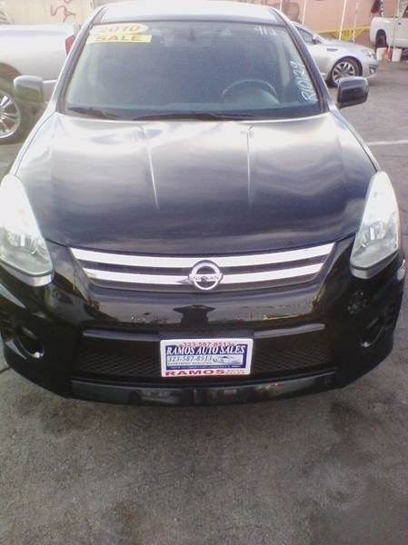 2010 nissan rogue s krom 4dr crossover in los angeles ca ramos auto sales. Black Bedroom Furniture Sets. Home Design Ideas