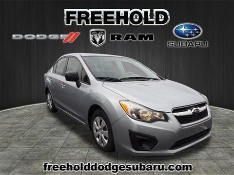 2013 Subaru Impreza for sale in Freehold, NJ